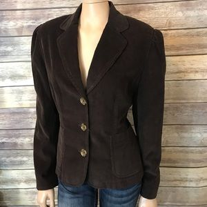 Banana Republic Brown Corduroy Blazer Jacket